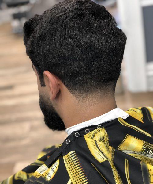 back of a man's haircut - Mr. Golden Scissors
